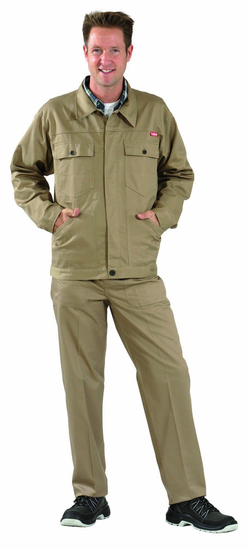 Planam MG290?Jacket Red khaki Size:106 cm