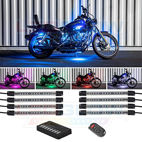 8pc motorcycle led lights - 6