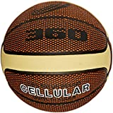 360 Athletics New - Cellular Basketball Size 7, Square Design, Brown and Cream