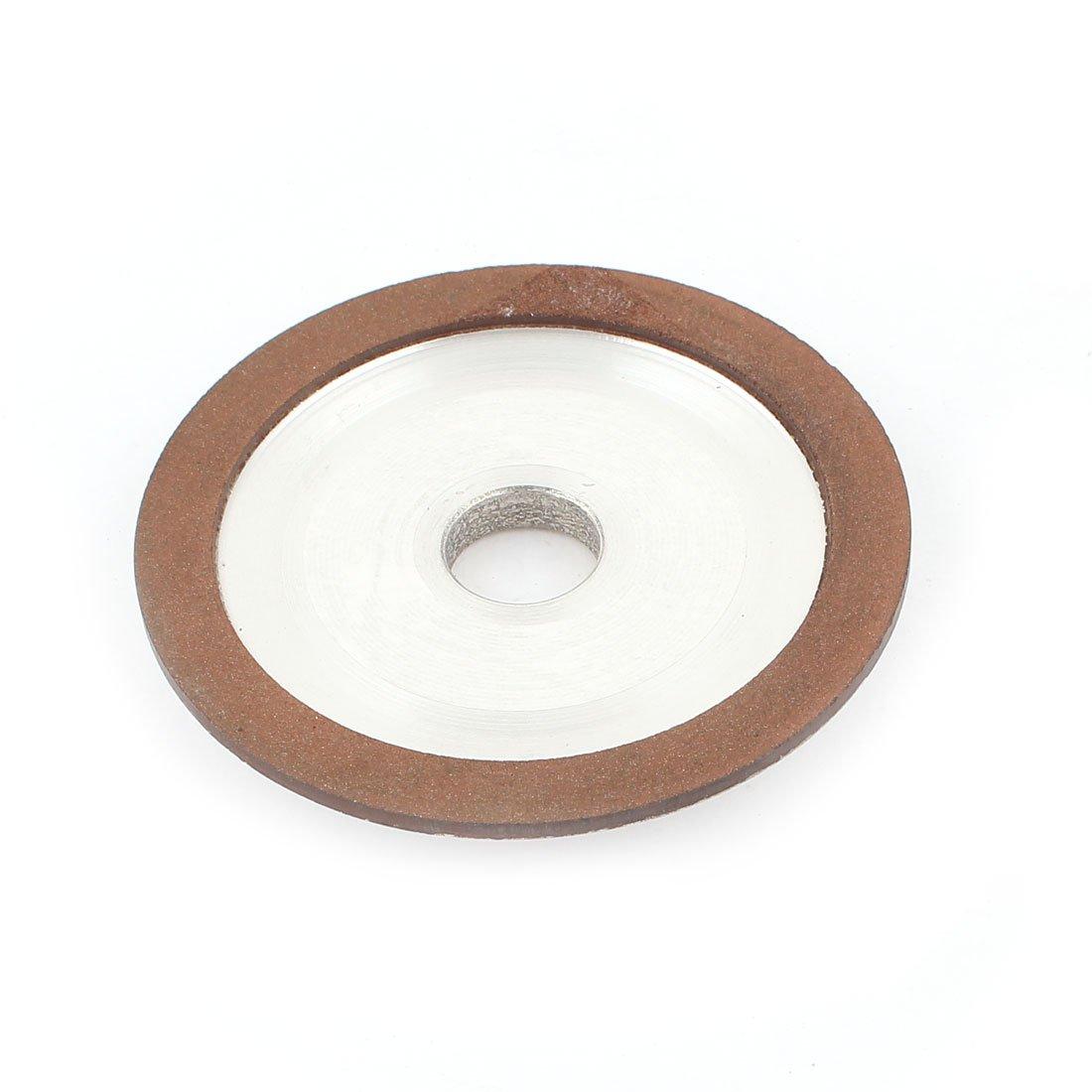 3'' x 3/8'' Resin Bond Plain Round Diamond Grinding Wheel 150 Grit 75%