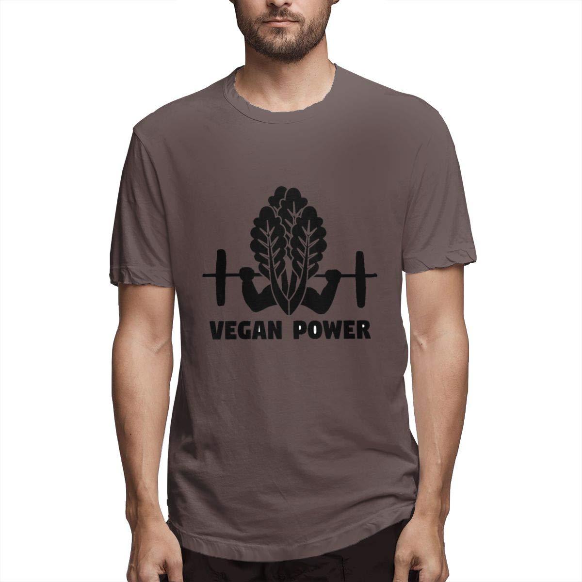 Seuriamin Vegetable Veggie Vegan Animal Mens Summer Travel Short Sleeve Tee