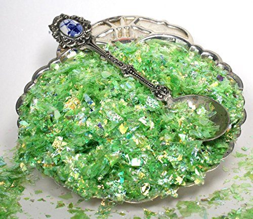 Green - Lime Green - Iridescent Ice Flakes - (1 lb) 311-4375