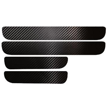 Maiqiken Juego de 4 Pegatinas de Fibra de Carbono para el umbral de Golf 6 MK6 2009-2013: Amazon.es: Coche y moto