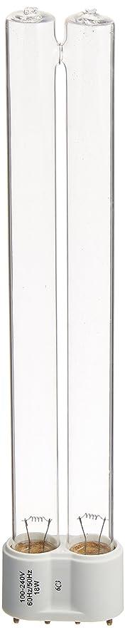 Amazon.com : Coralife 05743 6X Turbo Twist UV Replacement Lamp, 18 ...