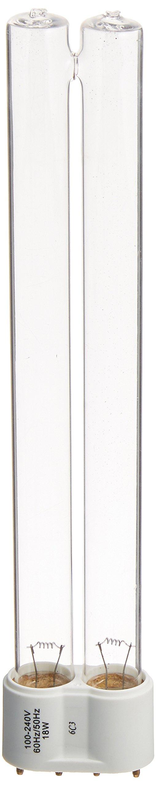Coralife 05743 6X Turbo Twist UV Replacement Lamp, 18-Watt