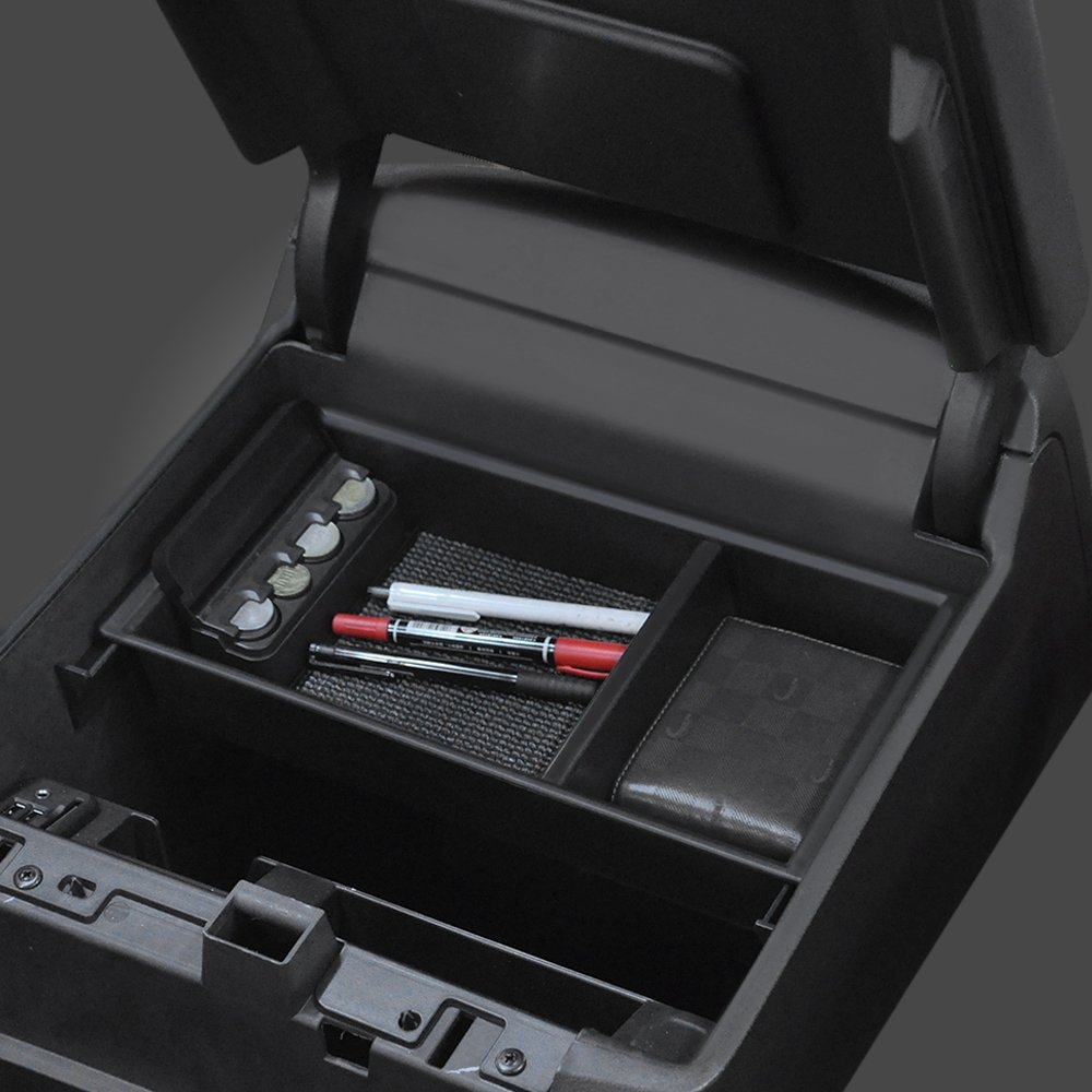 JoyTutus Fits Chevy Silverado Tahoe Center Console Organizer Tray fits GMC Sierra Yukon 2014 to 2018 22817343