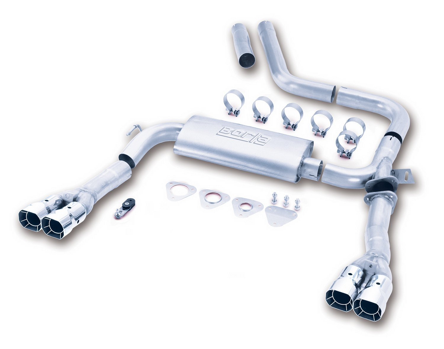 Amazon Borla 14780 3 Adjustable Cat Back Exhaust System Automotive