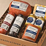 Gourmet Foods, Meats, Deli Supreme, 2-3 lb. Smoked Boneless Ham 1 lb. Canadian-Style Bacon 14 oz. Light-Smoked Summer Sausage 14 oz. Double-Smoked Summer Sausage 10 oz. Calico Cheese 4.75 oz. Dill Mus