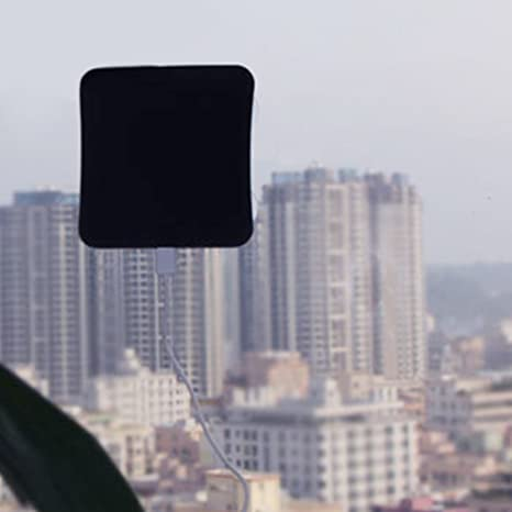 Solar Mobile Power Pasta en Ventana Panel Solar USB Power ...