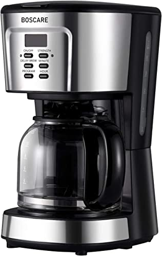 BOSCARE programmable coffee maker,12-14 Cup Drip Coffee Brewer