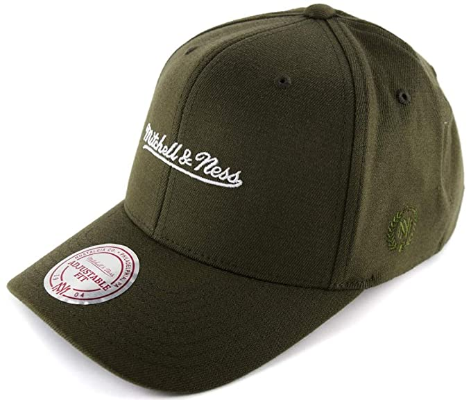 39bcad728f4a8 Mitchell   Ness Herren Snapback Cap 110 The Camo   Suede Olive Verstellbar