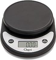 Ozeri ZK14-AB Pronto Digital Multifunction Kitchen and Food Scale, Silver On Black (Renewed)