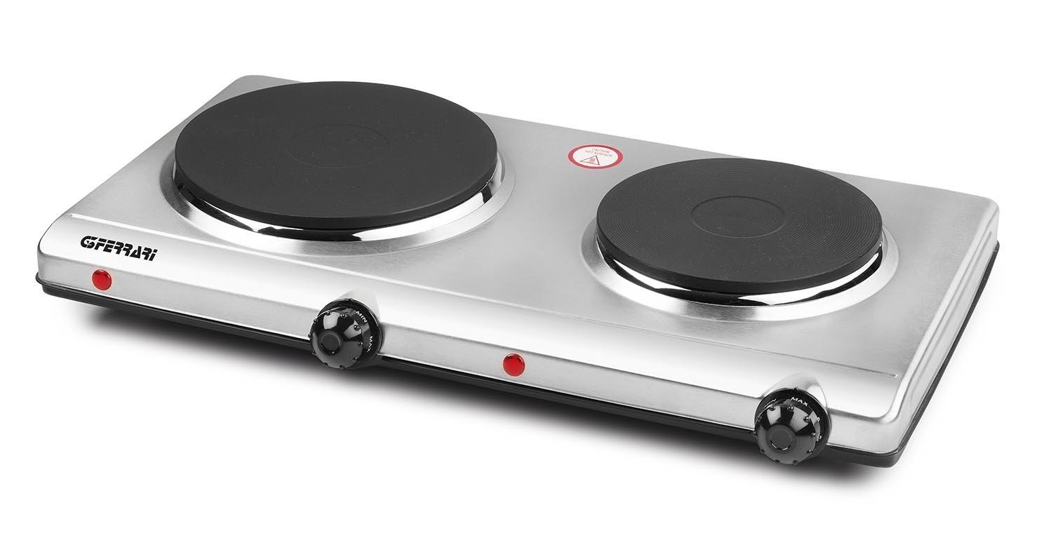 G3Ferrari G10035 Fornell-Dos Fornello Elettrico Doppio G1003500 Cucina; Fornello