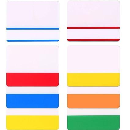 Lvcky - Dispensador de páginas Adhesivas con pestañas para archivadores, Libros, Carpetas de Archivos