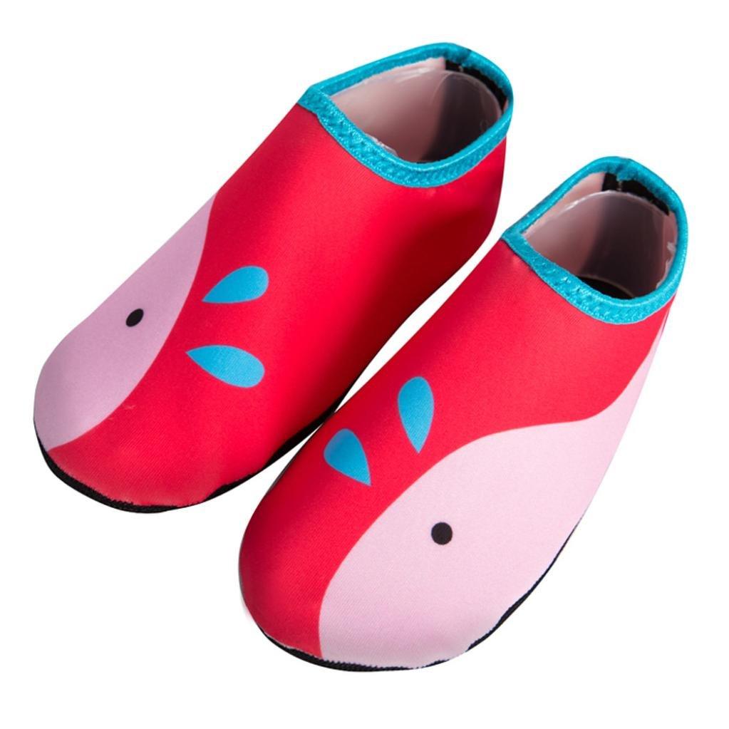 XILALU Children Diving Socks, Lightweight Outdoor Quick Dry Water Sport Non-Slip Seaside Barefoot Shoes
