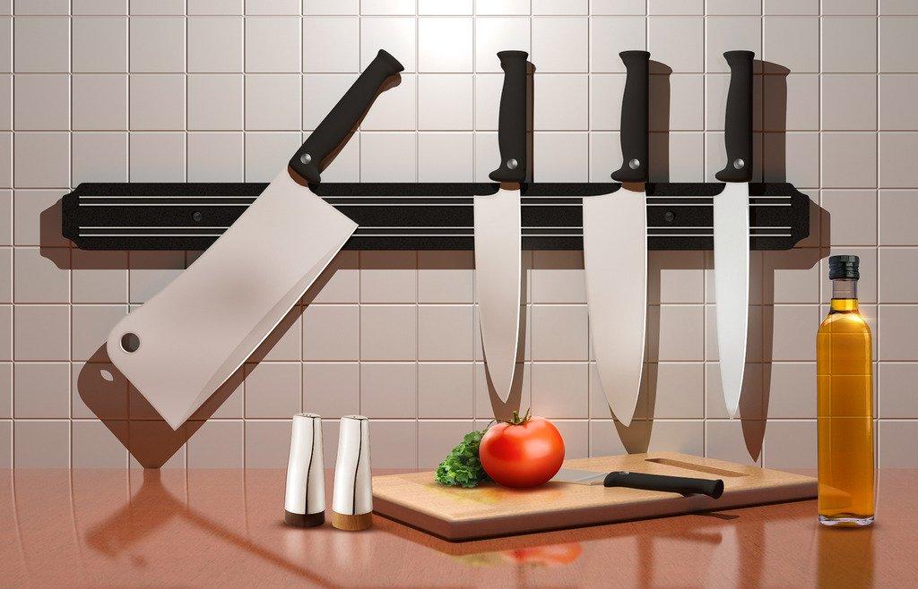 Sorbus Magnetic Knife Holder Strip, 22 inch
