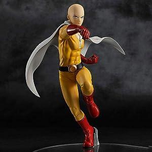 Anime Doll Figure One-Punch Man Saitama Teacher One-Punch Man Premium Model Sculpture Decoration Figure Statue Approx. 18cm