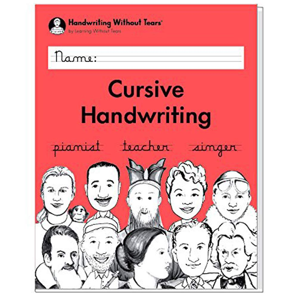 Homeschooling Cursive Handwriting Teachers Guide Great for Teachers Handwriting Without Tears Cursive Handwriting School- Grade 3 and a Bonus Gift Boutique Eraser
