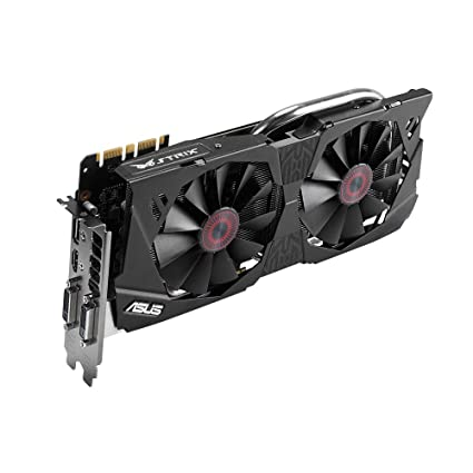 ASUS STRIX GeForce GTX 970 Overclocked 4 GB DDR5 256-bit DisplayPort HDMI  2 0 DVI-I Graphics Card