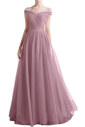 Victory Sommer Abendkleider Ballkleider Tanzenkleider Partykleider Tuell Damen Bridal Elegant Lang 3TlJcuFK15