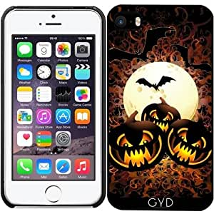 Funda para Iphone SE - Calabazas Negro La Noche De Halloween by BluedarkArt