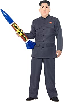 SmiffyS 47203L Disfraz De Dictador Con Pantalones y Chaqueta ...