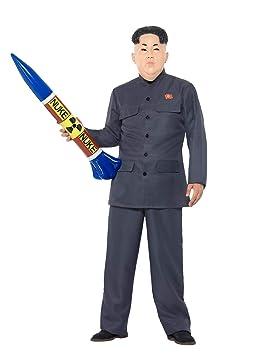 Smiffys-47203XL Disfraz de dictador, con pantalones y ...