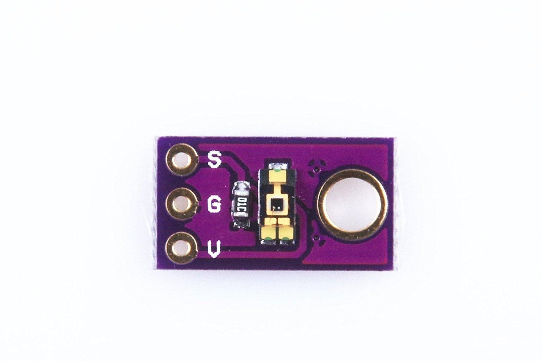 ARCELI Módulo de Sensor de luz TEMT6000 / módulo de Sensor de luz Ambiental/módulo de Intensidad de luz analógica/módulo de Sensor de luz Visible: ...