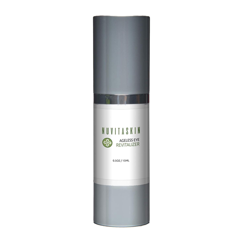 Nuvita Skin Revitalizing Eye Treatment Serum- Premium Skincare- Advanced Formula -Brighten Eyes and Diminish Wrinkles