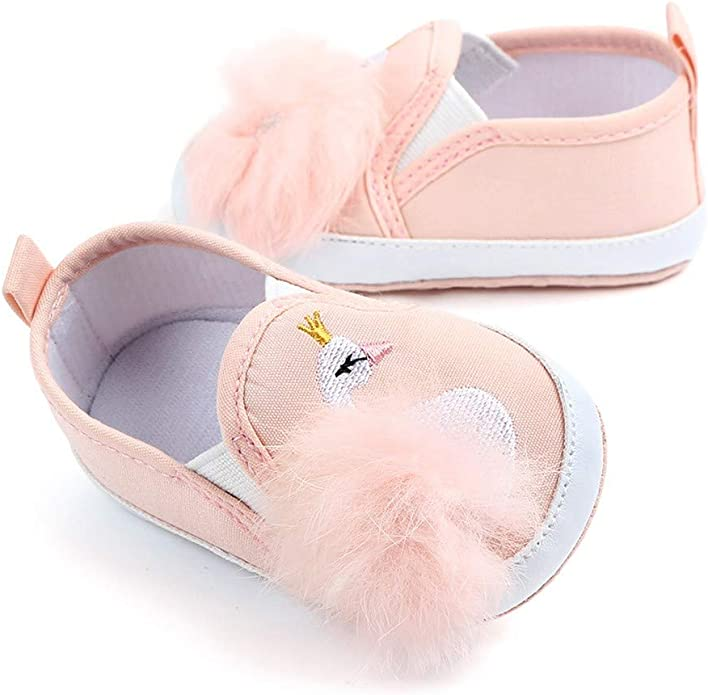 GorNorriss Baby Girl Shoes Toddler Infant Kids Elegant Flower Single Princess Casual Shoes