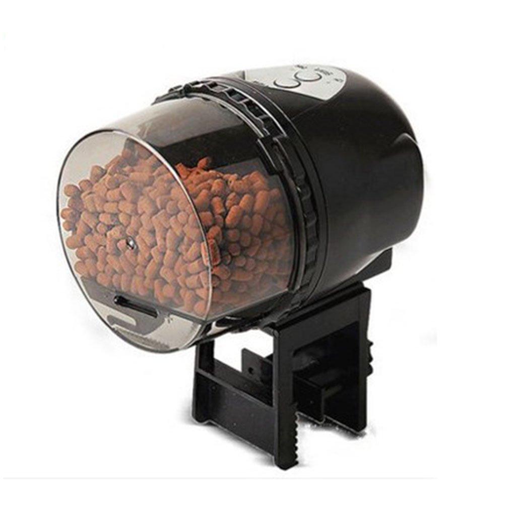 LFF.FF Alimentatore Automatico Per Pesci Alimentatore Per Pesci Alimentatore Per Pesci Anello Per Pesci Tempura Tartaruga Koi Pesce Pavone Tropicale,nero