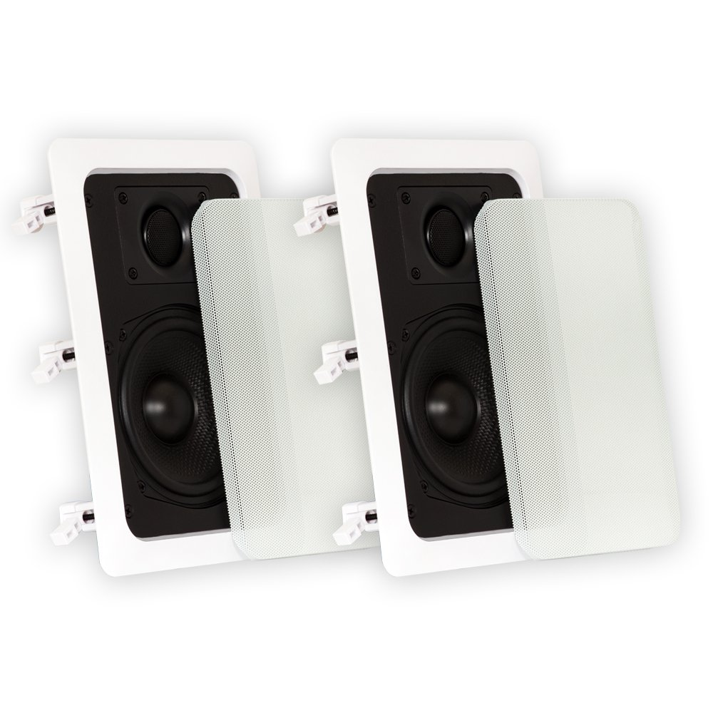 Amazon theater solutions ts50w 525 inch kevlar in wall amazon theater solutions ts50w 525 inch kevlar in wall speakers white home audio theater sciox Choice Image