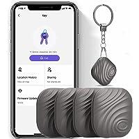 Keys Finder 4-pack kaffe - artikellokalisering Bluetooth-tracker för nycklar husdjursplånböcker eller ryggsäckar och…