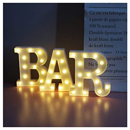 Vimlits Bar Illuminated Marquee Bar Sign Lighted Led Marquee
