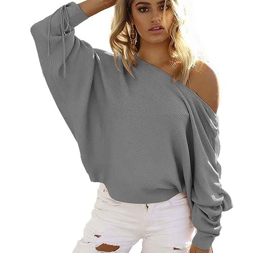 Ranboo Suéter blusa de manga larga Casual de Otoño Mujer Pullover