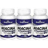 Niacina Vitamina B3 – Semprebom – 180 Cap. de 240 mg.