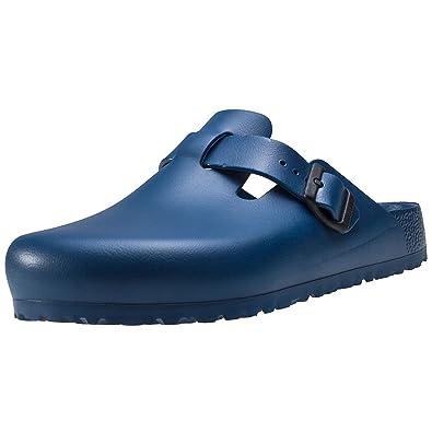 Birkenstock Boston Stone Blue: : Schuhe & Handtaschen