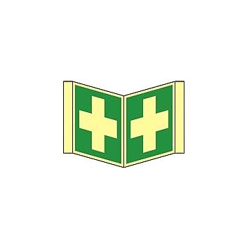 Nariz rettungs Cartel como símbolo Primeros Auxilios según ...