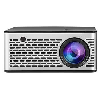Fishlor Mini proyector, Mini proyector portátil doméstico HD 1080P ...