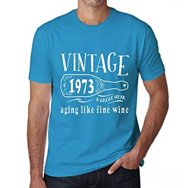 One in the City 1973 Aging Like a Fine Wine Hombre Camiseta ...