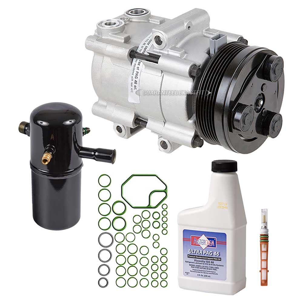AC Compressor w/A/C Repair Kit For Ford Crown Victoria & Mercury Grand Marquis - BuyAutoParts 60-80220RK New