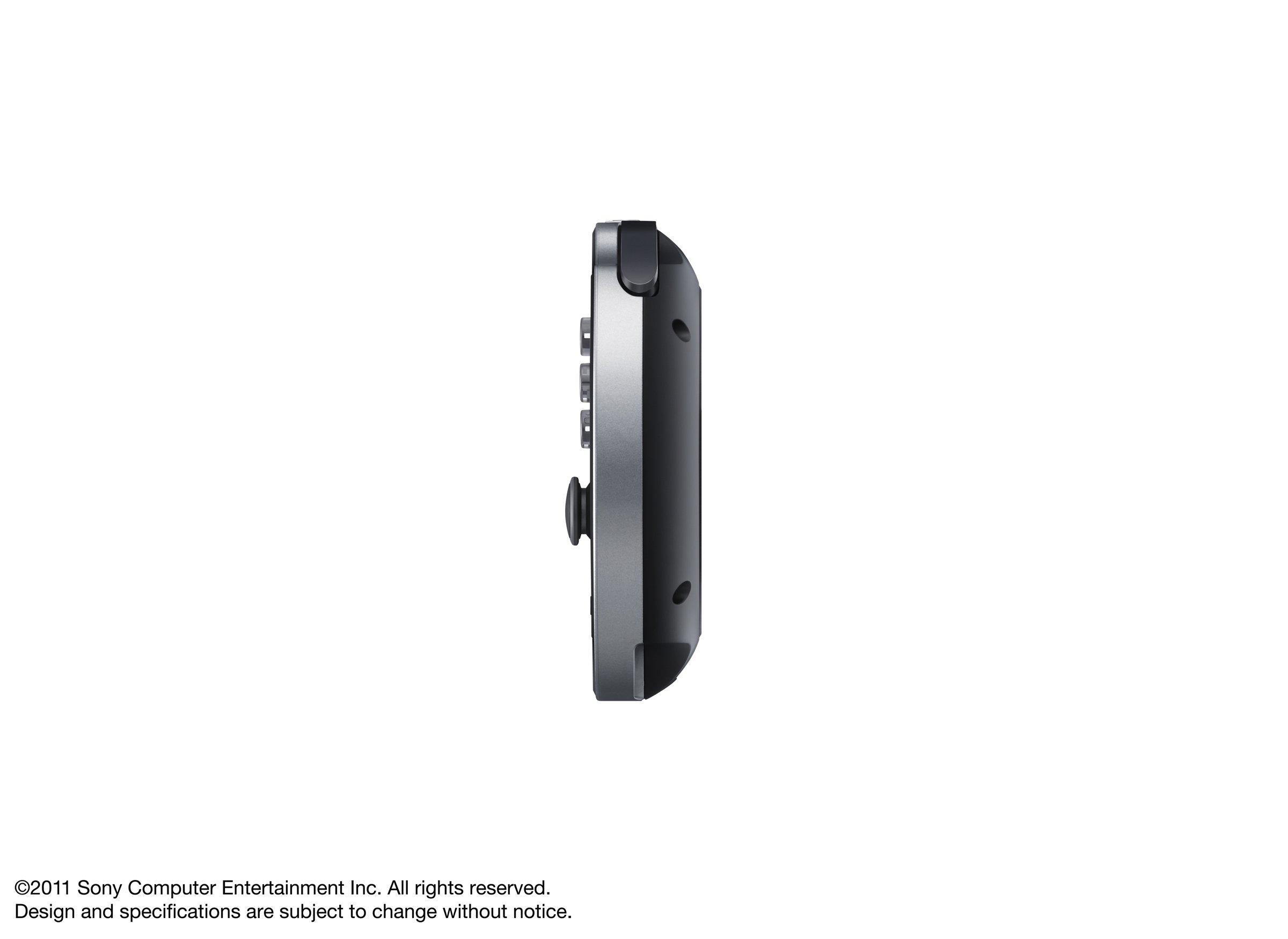 PlayStation Vita 3G/Wi-Fi Model Crystal Black Limited edition (PCH-1100AB01) by Sony (Image #6)