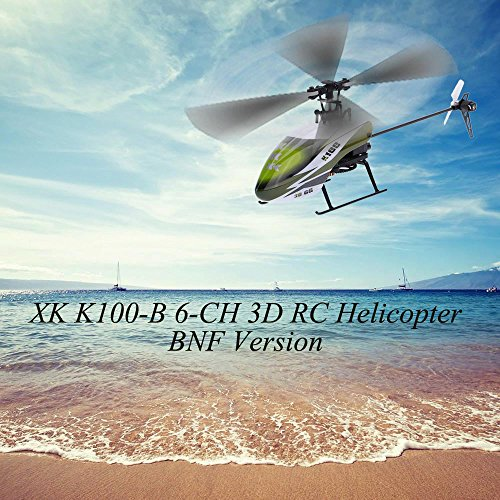 Falcon 3d Rc Helicopter - Original XK Falcon K100-B 6CH 3D 6G system RC RC helicopter BNF [parallel import goods]