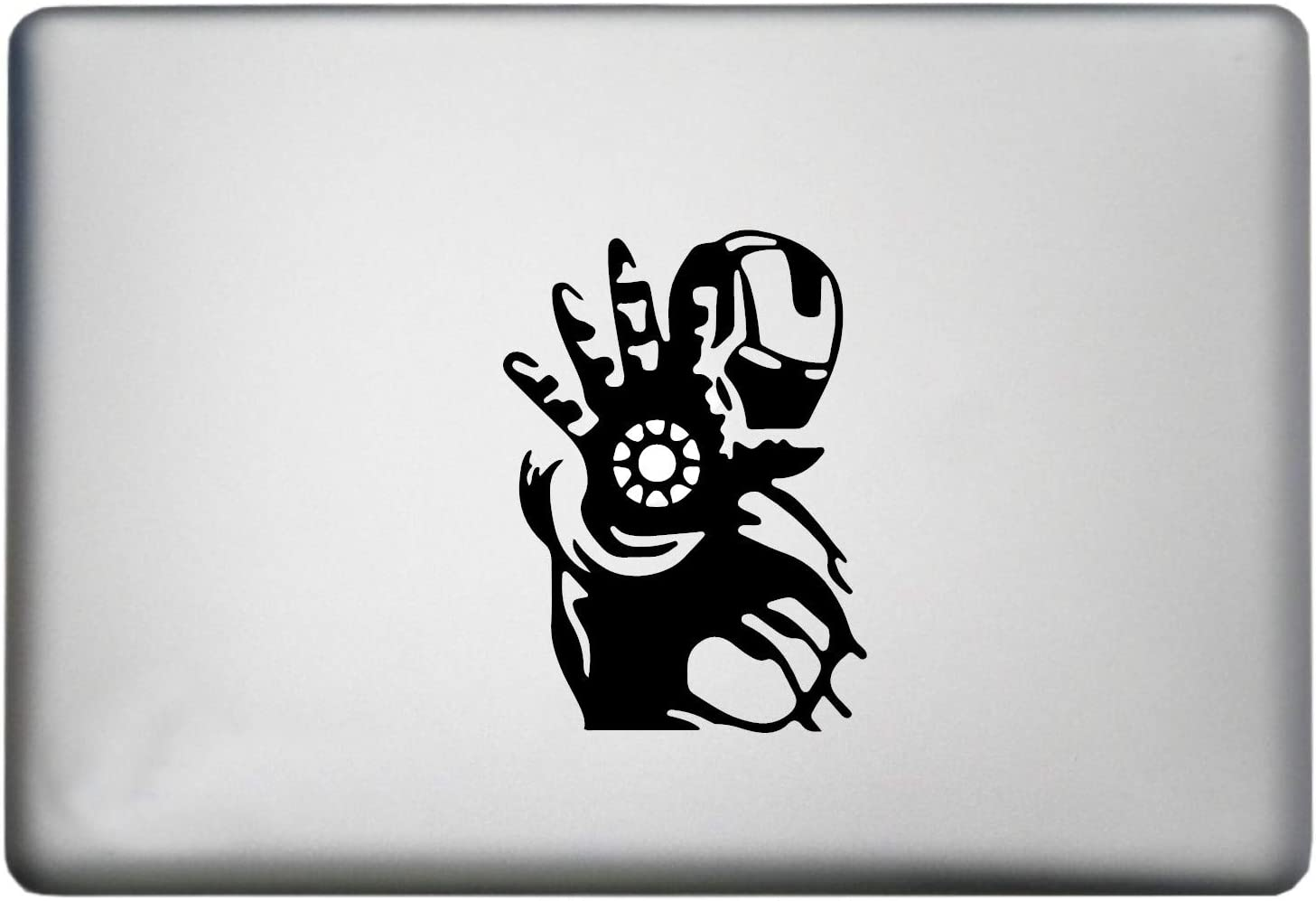 WallDecalsAndArt Iron Man Sticker MacBook Pro Decal is a MacBook Apple Sticker Iron Man. Available in 11, 12, 13 and 15 inch Laptop Sizes. Looks Great with Your Iron Man Theme. Many Colors-Black