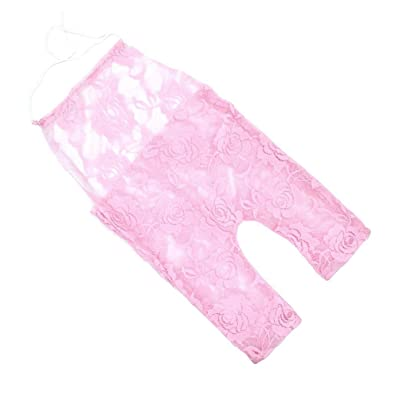 Shybuy Infant Baby Girl Lace Romper Jumpsuit Princess Clothes Newborn Photography Prop