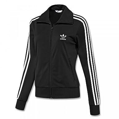 adidas originals firebird track top damen-trainingsjacke black