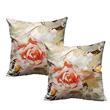 Amazon.com: Fundas de almohada románticas con diseño ...