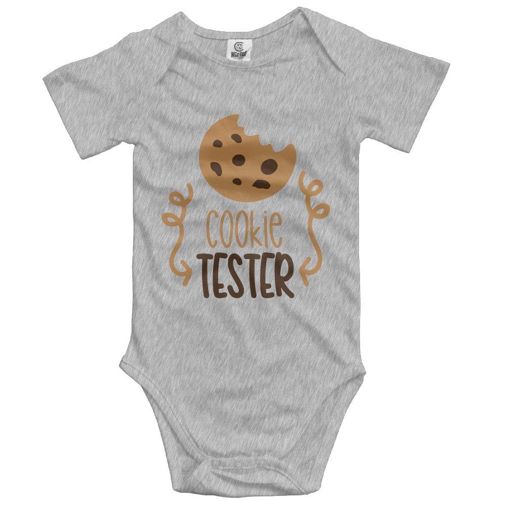 Midbeauty Cookie Tester Unisex Baby Sleeveless Bodysuit