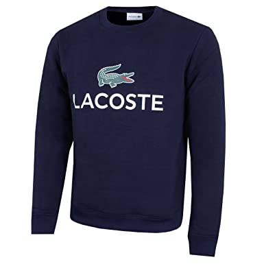 a77fe9e80e2d Lacoste Mens Sweatshirt SH0605-00 at Amazon Men s Clothing store