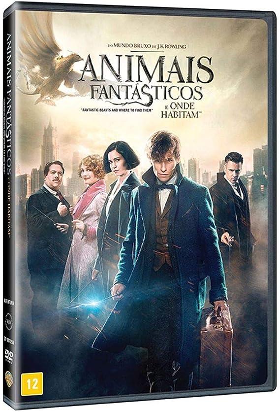 Animais Fantasticos E Onde Habitam Dvd Eddie Redmayne
